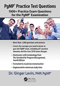 PgMP® Practice Test Questions: 1000+ Practice Exam Questions for the PgMP® Examination-cover