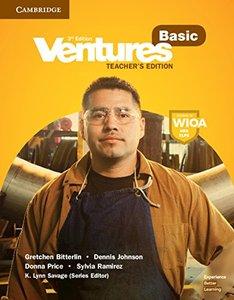 Ventures Basic Teacher's Edition-cover