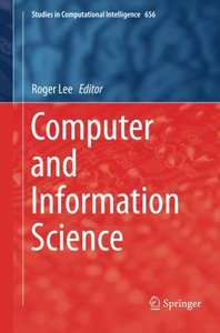 Computer and Information Science (Studies in Computational Intelligence)-cover