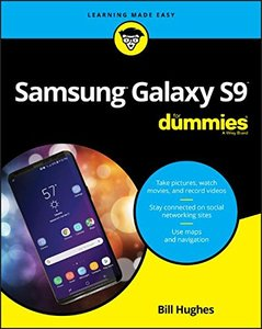 Samsung Galaxy S9 For Dummies (For Dummies (Computer/Tech))-cover