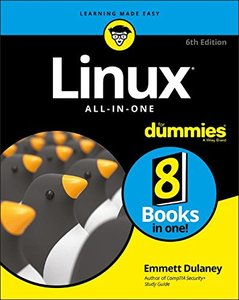 Linux All-In-One For Dummies (For Dummies (Computer/Tech))-cover