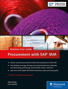 SAP Purchasing and Procurement with SAP MM (Materials Management): Business User Guide (2nd Edition) (SAP PRESS)-cover