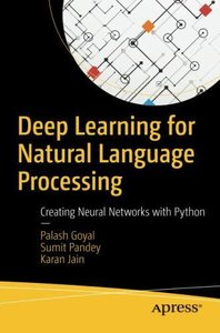 Deep Learning for Natural Language Processing: Creating Neural Networks with Python-cover