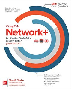 CompTIA Network+ Certification Study Guide, Seventh Edition (Exam N10-007)-cover