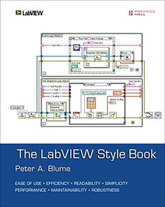 The LabVIEW Style Book (Paperback)(美國原版)-cover