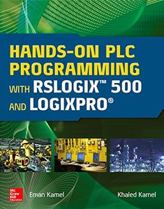 Hands-On PLC Programming with RSLogix 500 and LogixPro-cover