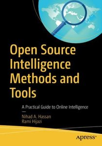Open Source Intelligence Methods and Tools: A Practical Guide to Online Intelligence-cover