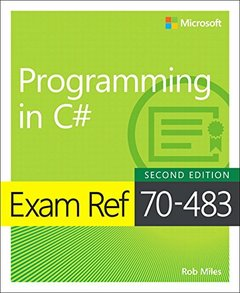 Exam Ref 70-483 Programming in C# (2nd Edition)-cover