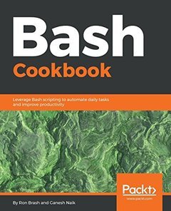 Bash Cookbook-cover