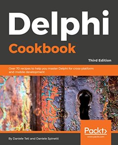 Delphi Cookbook - Third Edition-cover