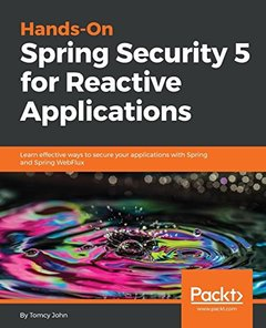 Hands-On Spring Security 5 for Reactive Applications-cover