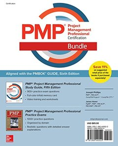 PMP Project Management Professional Certification Bundle-cover