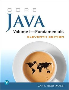 Core Java Volume I--Fundamentals (11th Edition)-cover