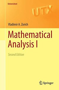 Mathematical Analysis I (Universitext)-cover