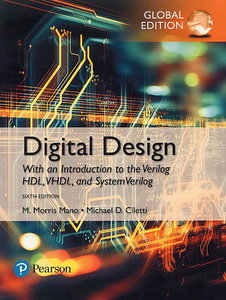 Digital Design: With an Introduction to the Verilog HDL, VHDL, and SystemVerilog, 6/e (GE-Paperback)-cover