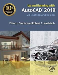 Up and Running with AutoCAD 2019: 2D Drafting and Design-cover