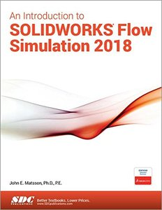 An Introduction to SOLIDWORKS Flow Simulation 2018-cover