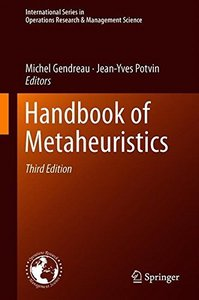 Handbook of Metaheuristics (International Series in Operations Research & Management Science)-cover