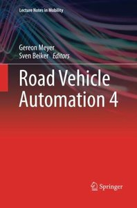 Road Vehicle Automation 4 (Lecture Notes in Mobility)-cover