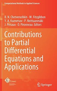 Contributions to Partial Differential Equations and Applications (Computational Methods in Applied Sciences)-cover