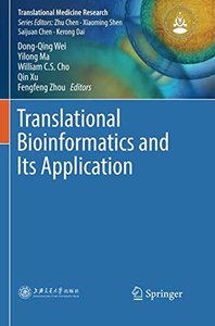 Translational Bioinformatics and Its Application (Translational Medicine Research)-cover