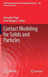 Contact Modeling for Solids and Particles (CISM International Centre for Mechanical Sciences)-cover