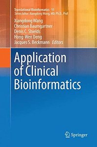 Application of Clinical Bioinformatics (Translational Bioinformatics)-cover