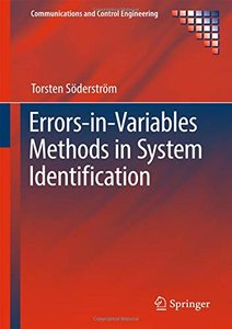Errors-in-Variables Methods in System Identification (Communications and Control Engineering)-cover