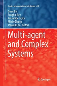 Multi-agent and Complex Systems (Studies in Computational Intelligence)-cover