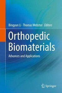 Orthopedic Biomaterials: Advances and Applications-cover