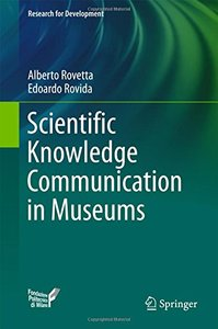 Scientific Knowledge Communication in Museums (Research for Development)-cover