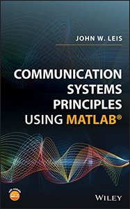 Communication Systems Principles Using MATLAB-cover