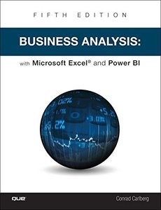 Business Analysis with Microsoft Excel and Power BI (5th Edition)-cover
