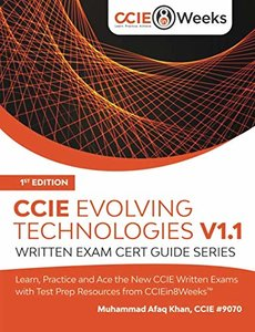 CCIE Evolving Technologies V1.1: Written Exam Cert Guide Series-cover