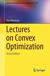 Lectures on Convex Optimization (Hardcover)(by dhl)-cover
