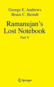 Ramanujan's Lost Notebook: Part V-cover