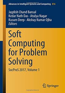 Soft Computing for Problem Solving: SocProS 2017, Volume 1 (Advances in Intelligent Systems and Computing)-cover