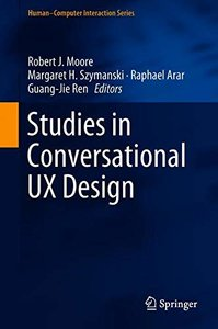 Studies in Conversational UX Design (Human–Computer Interaction Series)-cover