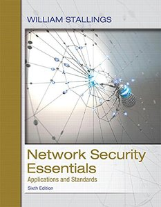 Network Security Essentials: Applications and Standards (6th Edition)(美國原版)-cover
