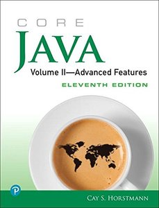 Core Java, Volume II--Advanced Features (11th Edition)-cover