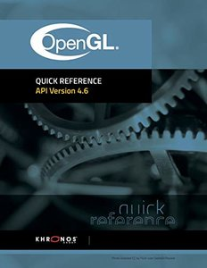 OpenGL 4.6 Reference Guide-cover