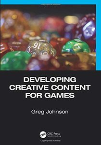 Developing Creative Content for Games-cover