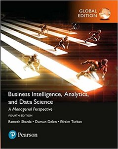 Business Intelligence: A Managerial Approach, 4/e (IE-PAperback)-cover
