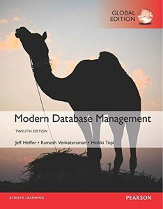 Modern Database Management, 12/e (IE-Paperback)-cover