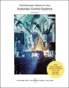 Automatic Control Systems, 10/e (iE-Paperback)-cover