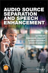 Audio Source Separation and Speech Enhancement-cover