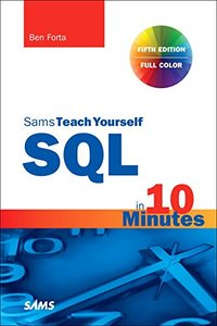 Sams Teach Yourself SQL in 10 Minutes a Day, 5/e (Paperback)-cover