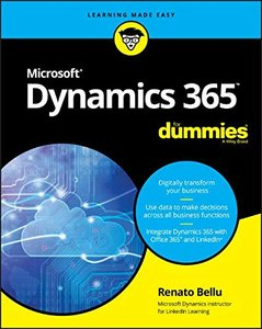Microsoft Dynamics 365 For Dummies (For Dummies (Computer/Tech))-cover