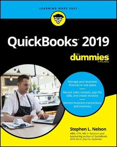 QuickBooks 2019 For Dummies (For Dummies (Computer/Tech))-cover