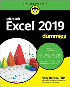 Excel 2019 For Dummies (Excel for Dummies)-cover